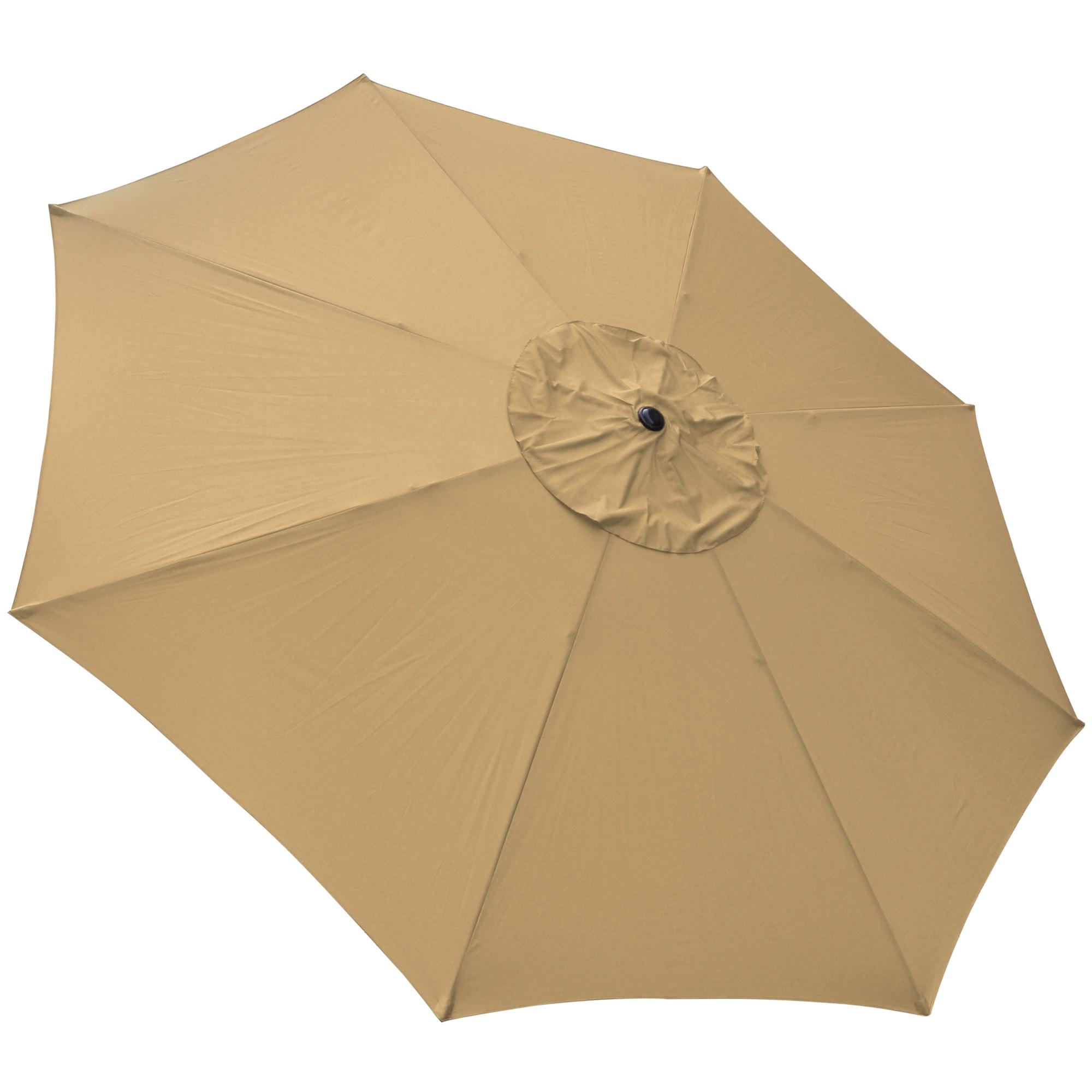 thumbnail 69 - 13' FT Sun Shade Patio Aluminum Umbrella UV30+ Outdoor Market Garden Beach Deck
