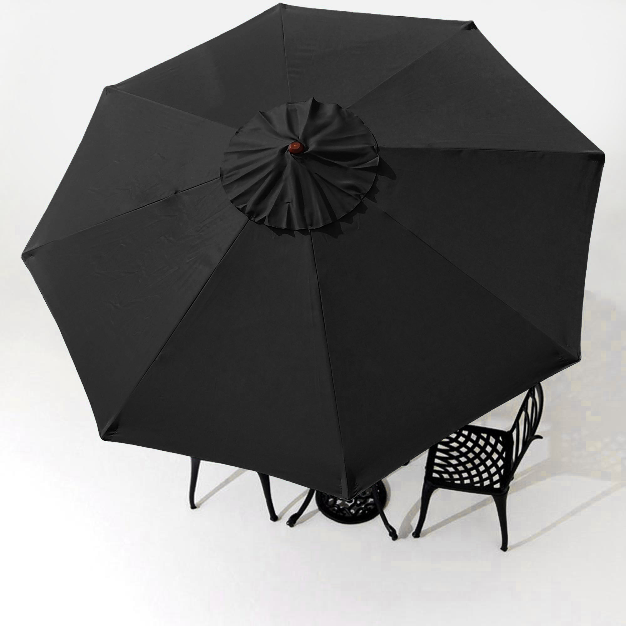 thumbnail 26 - 8'/9'/10'/13' Umbrella Replacement Canopy 8 Rib Outdoor Patio Top Cover Only Opt
