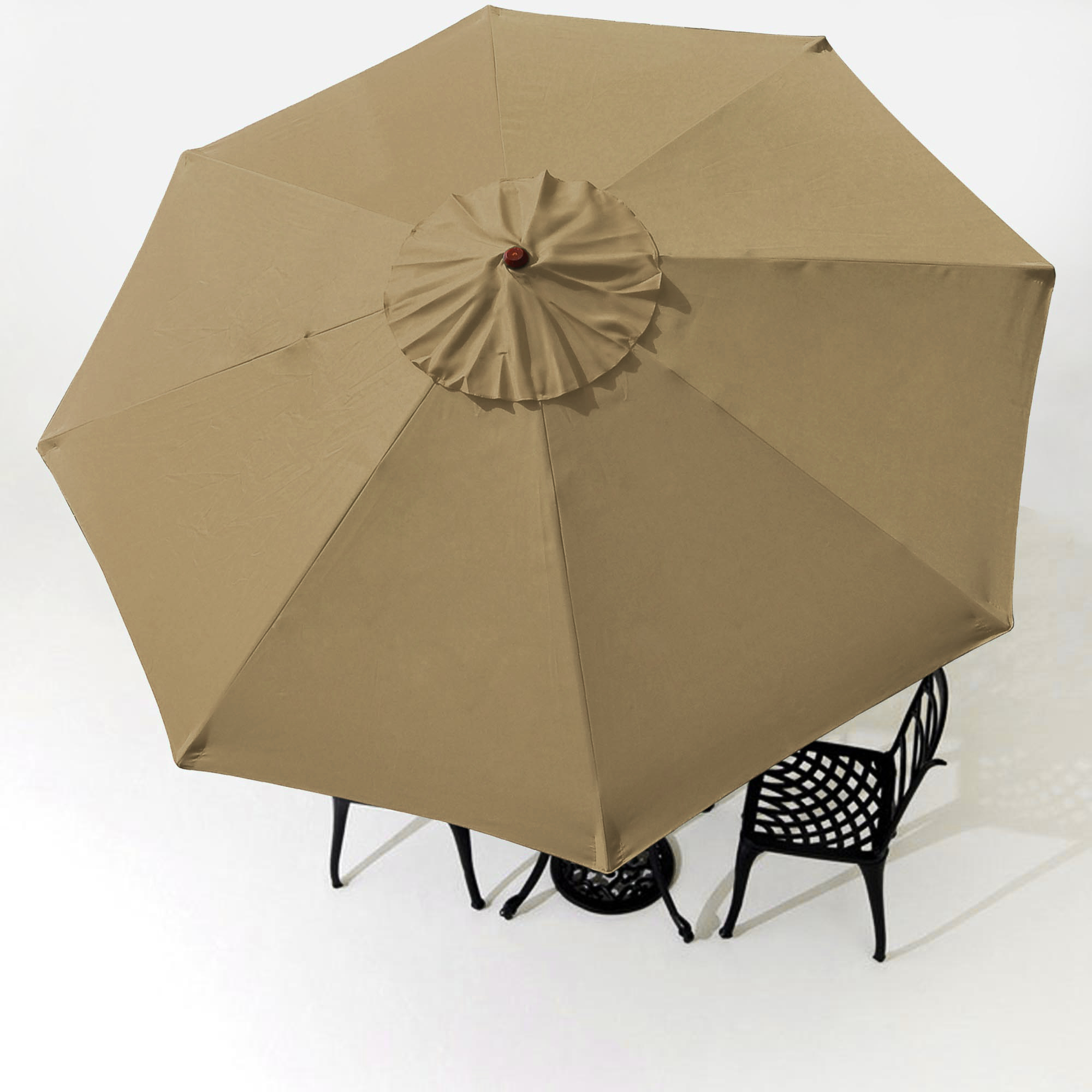 thumbnail 44 - 8'/9'/10'/13' Umbrella Replacement Canopy 8 Rib Outdoor Patio Top Cover Only Opt