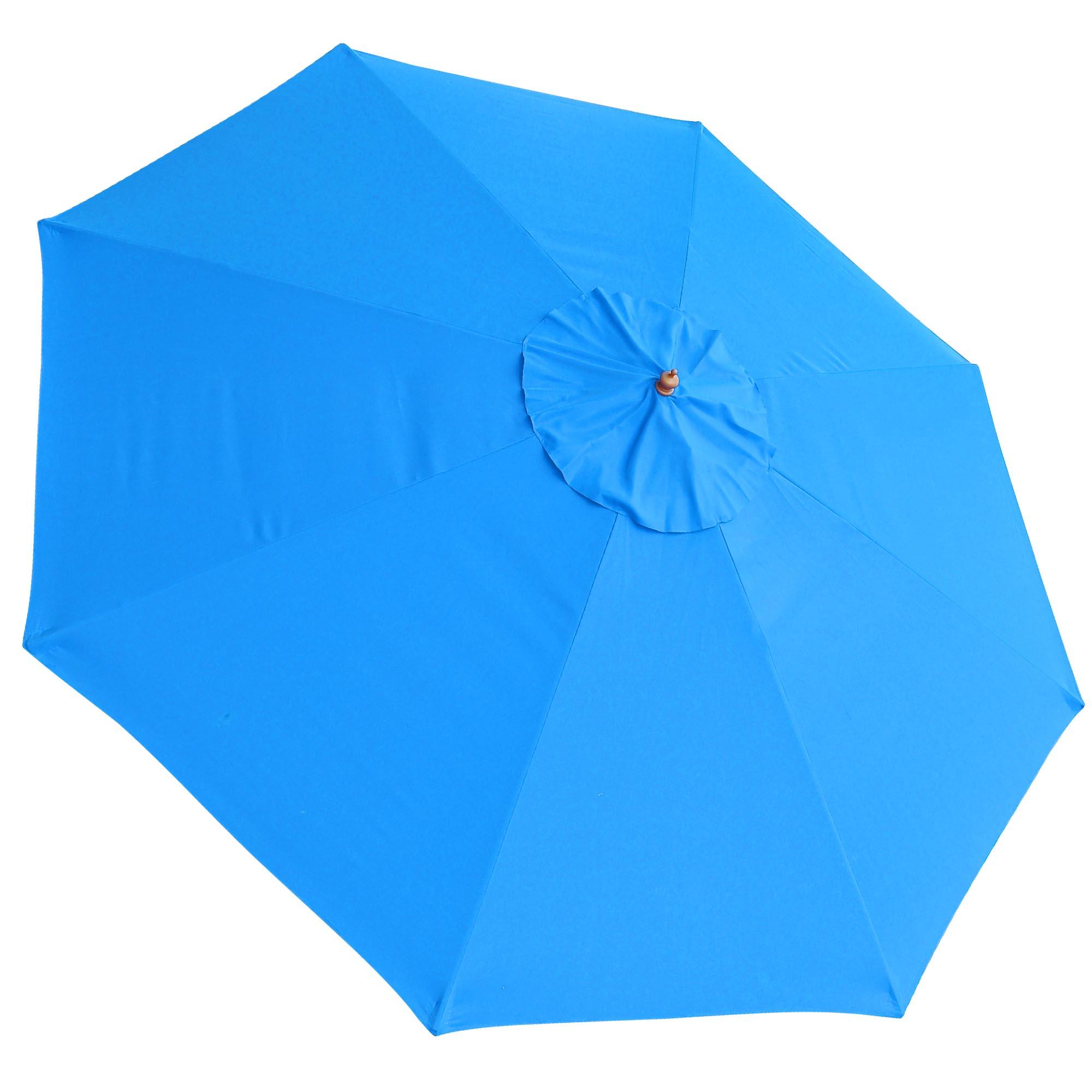 8 9 10 13 Umbrella Replacement Canopy 8 Rib Outdoor
