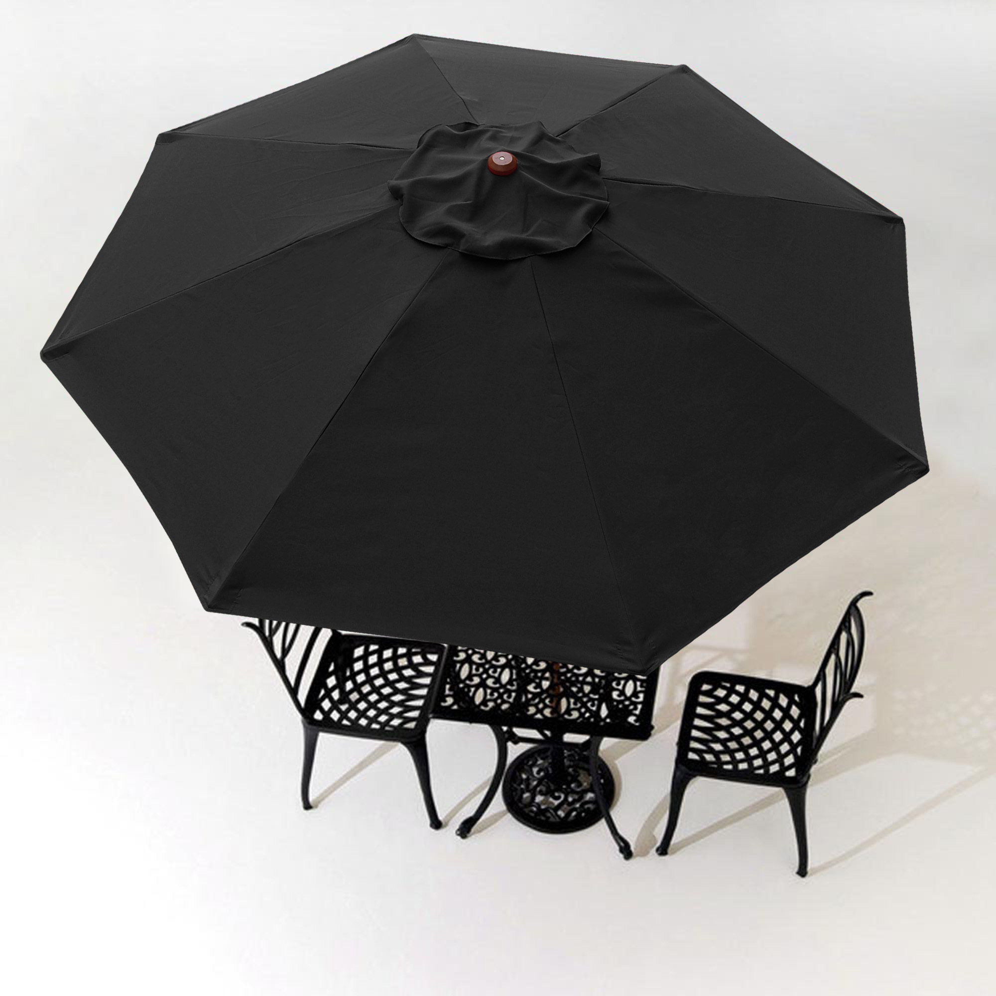 thumbnail 337 - 8'/9'/10'/13' Umbrella Replacement Canopy 8 Rib Outdoor Patio Top Cover Only Opt