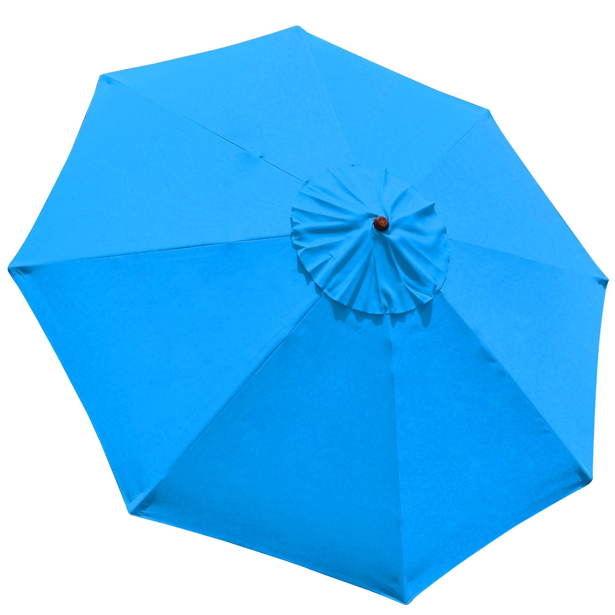 9FT Patio Umbrella Replacement Canopy Top Cover 8 Ribs Market