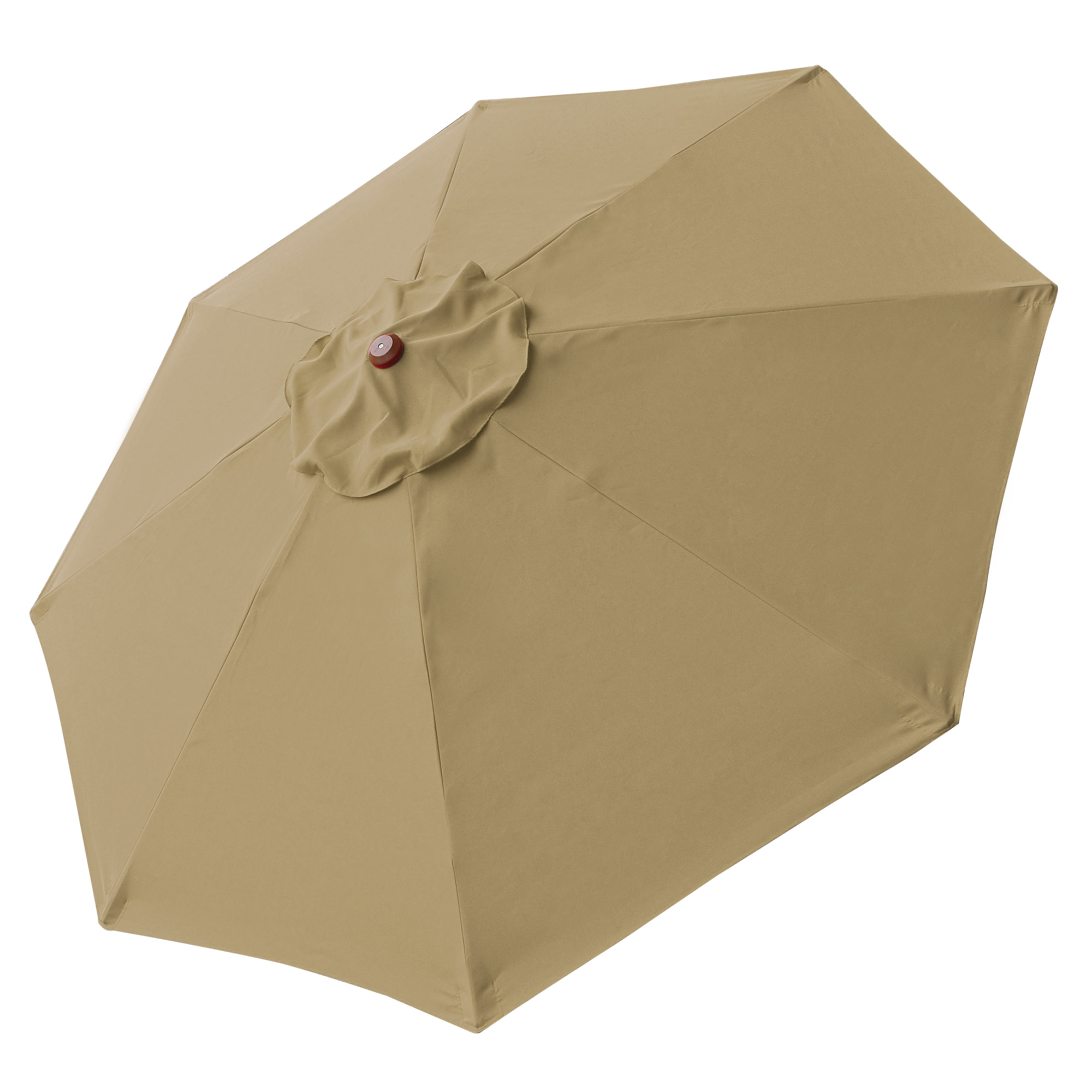 thumbnail 458 - 8'/9'/10'/13' Umbrella Replacement Canopy 8 Rib Outdoor Patio Top Cover Only Opt