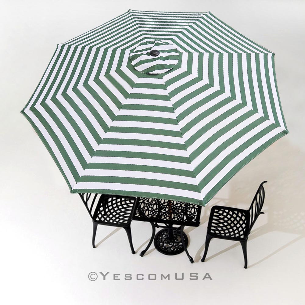 8Ft-8-Rib-Patio-Umbrella-Cover-Canopy-Replacement-  sc 1 st  eBay & 8Ft 8 Rib Patio Umbrella Cover Canopy Replacement Top Outdoor Yard ...