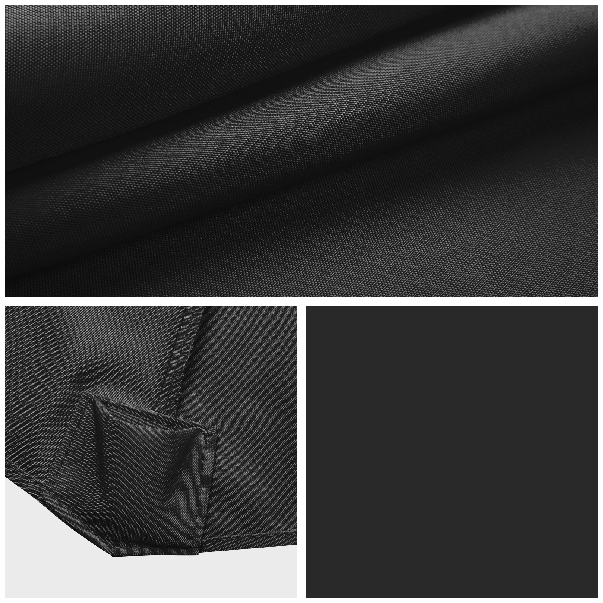 thumbnail 141 - 8'/9'/10'/13' Umbrella Replacement Canopy 8 Rib Outdoor Patio Top Cover Only Opt
