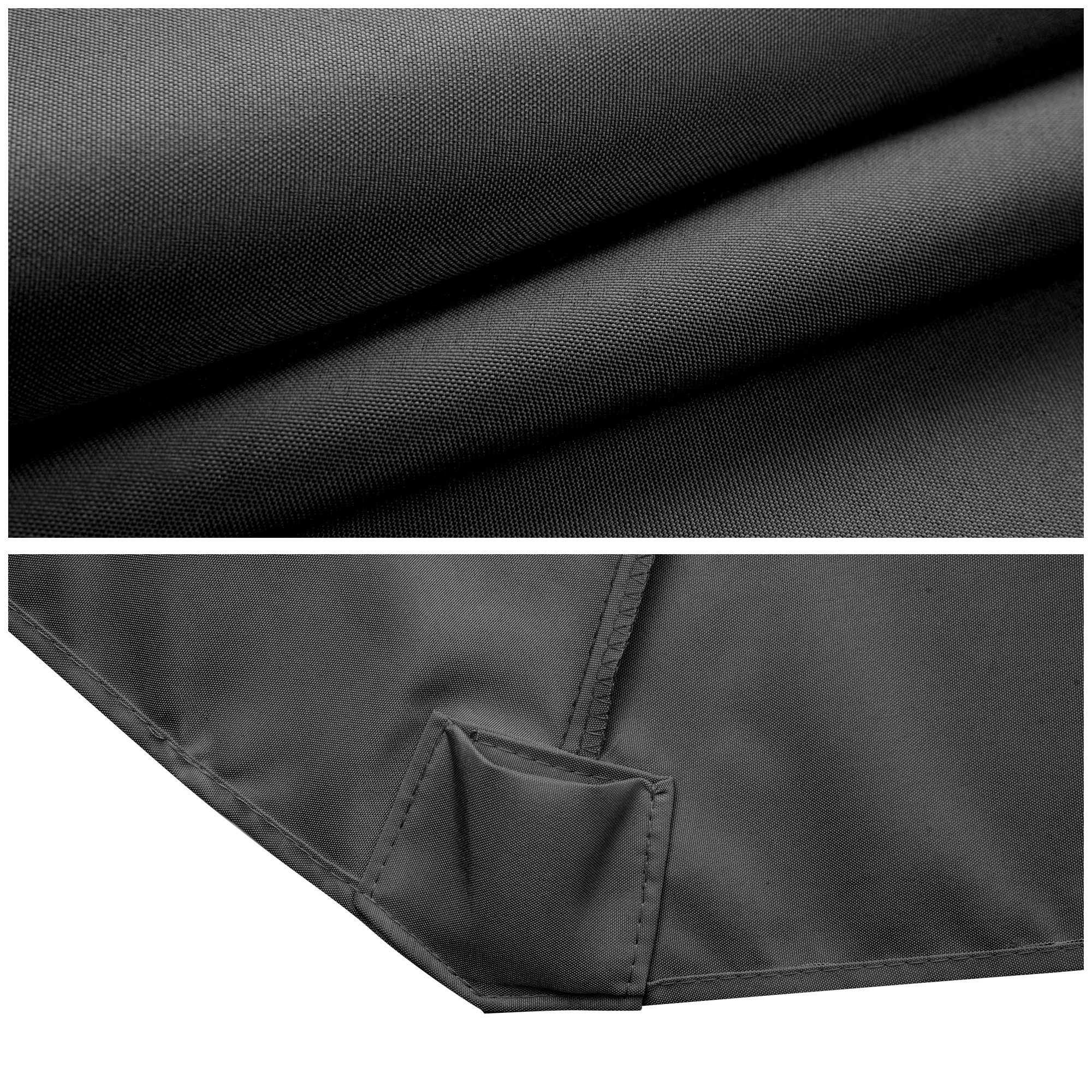 thumbnail 148 - 8'/9'/10'/13' Umbrella Replacement Canopy 8 Rib Outdoor Patio Top Cover Only Opt