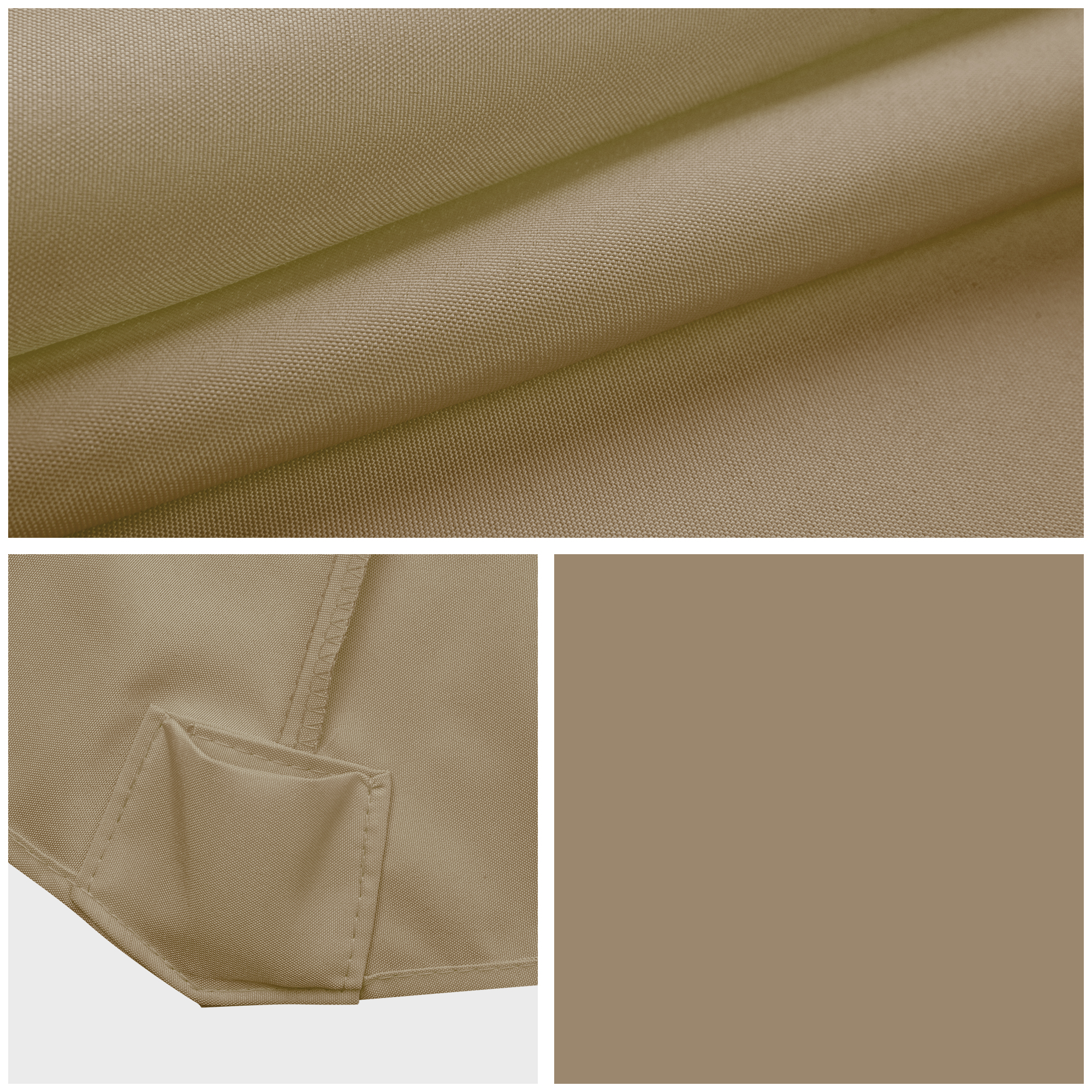 thumbnail 185 - 8'/9'/10'/13' Umbrella Replacement Canopy 8 Rib Outdoor Patio Top Cover Only Opt