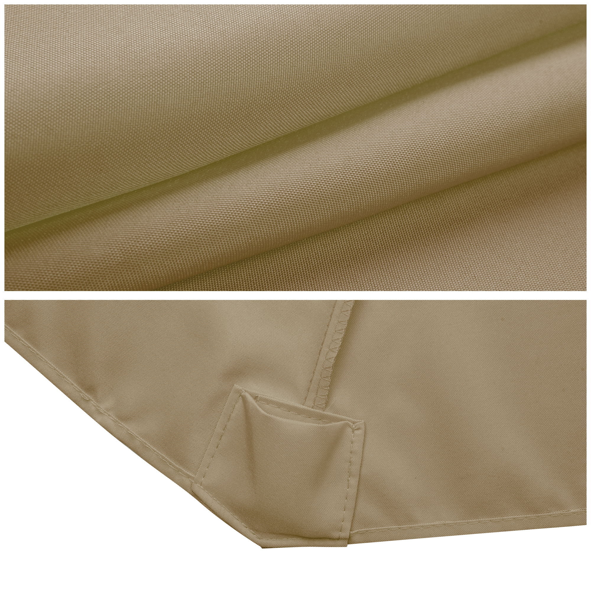 thumbnail 192 - 8'/9'/10'/13' Umbrella Replacement Canopy 8 Rib Outdoor Patio Top Cover Only Opt