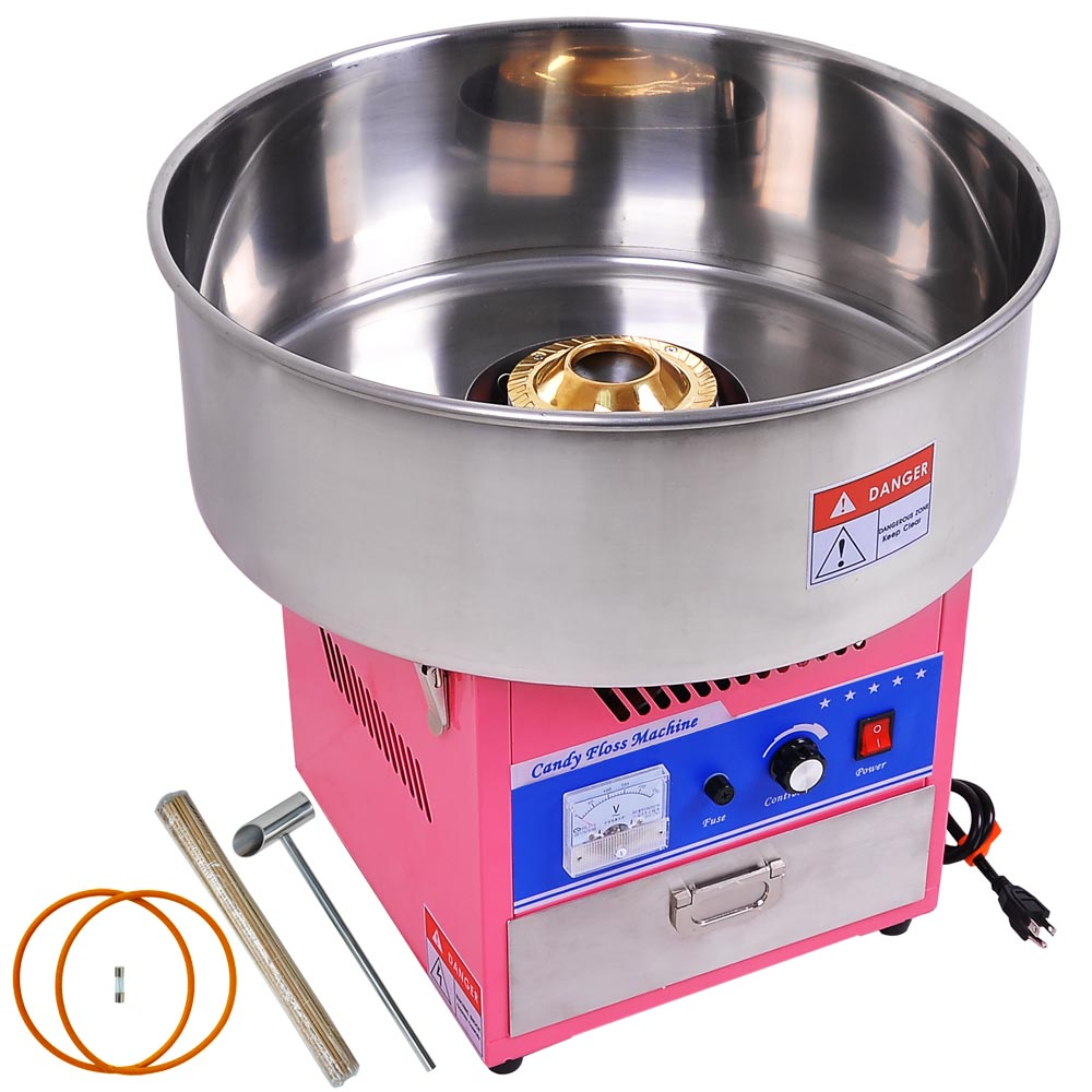 DIY Cotton Candy Machine Electric Commercial Floss Maker Party Carnival Festival