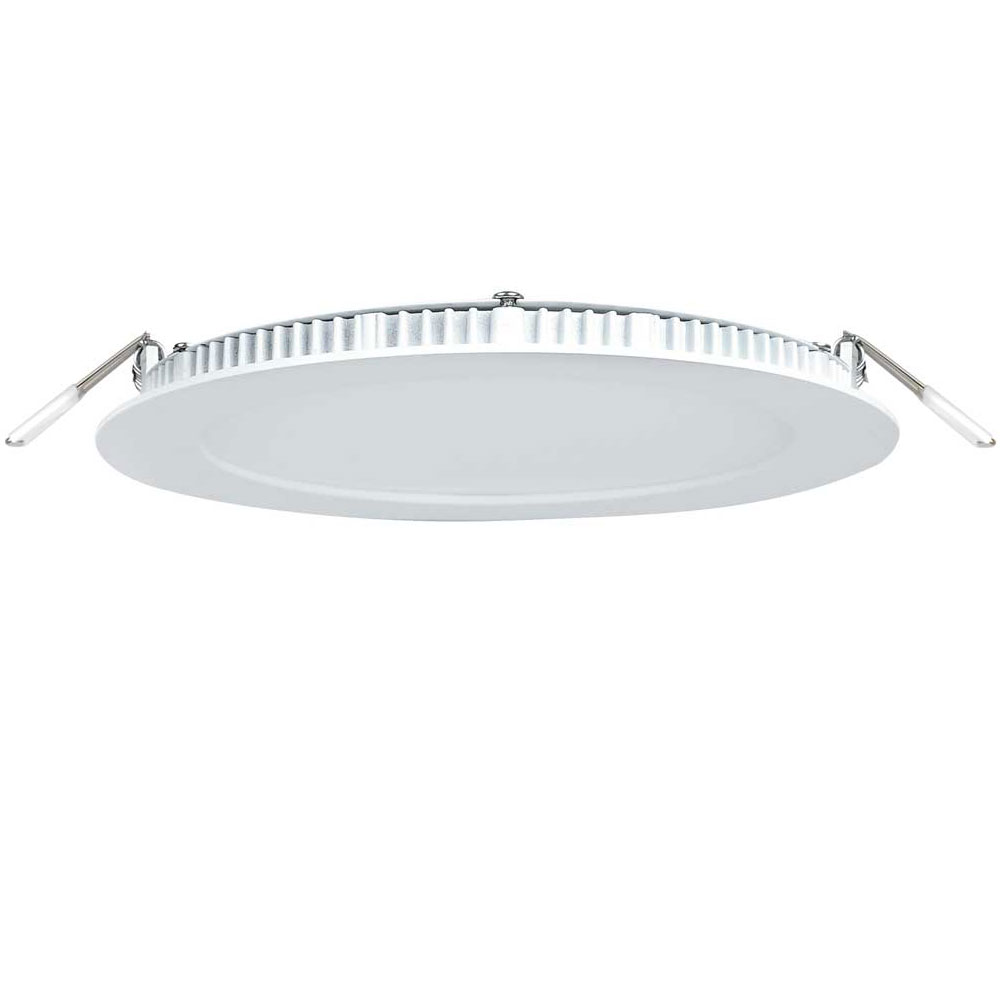 10 Pack 9W Round Recessed LED Panel Light Ceiling Down