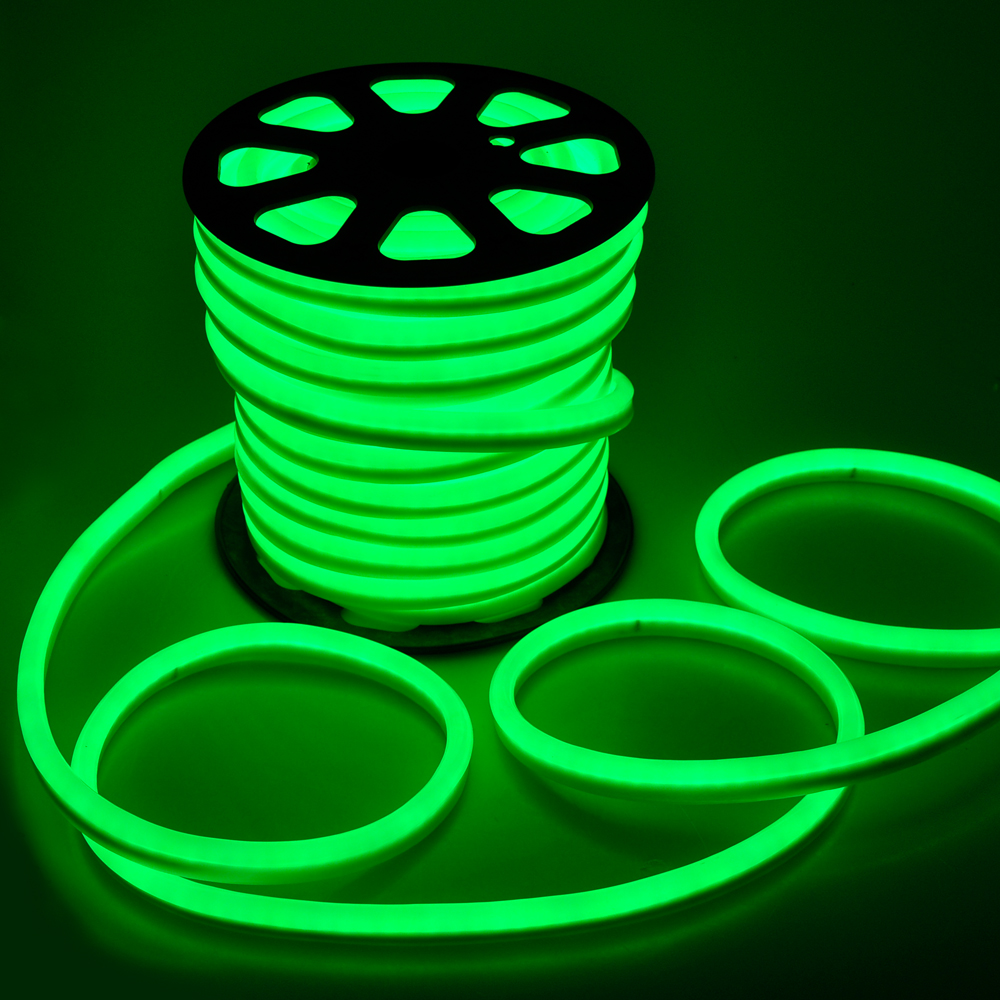 150 39 ft led neon rope light flex tube sign decorative home. Black Bedroom Furniture Sets. Home Design Ideas