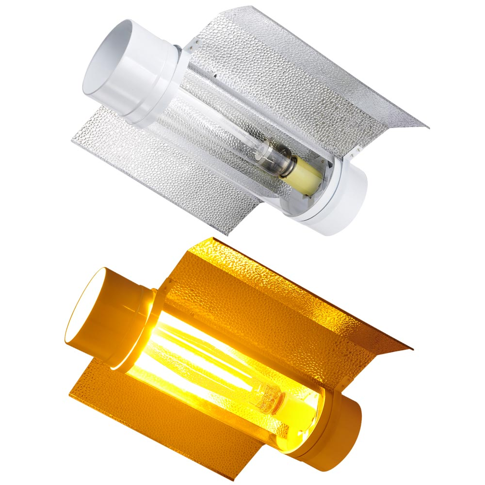 Grow Tent Light Reflector Hoods Air Cooled Tube For 250