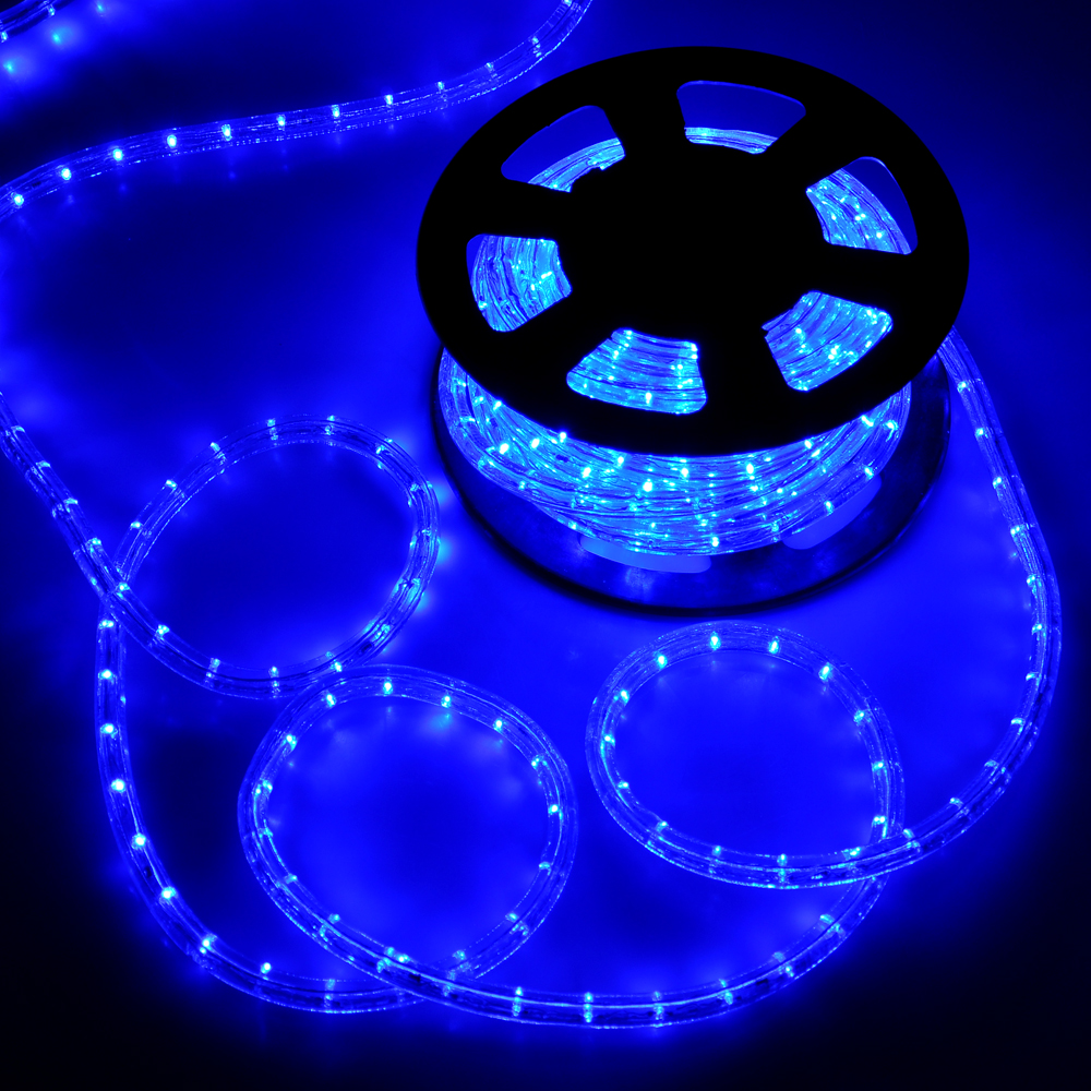 Led Rope Light Application: 50' LED Rope Light Flex 2 Wire Outdoor Holiday Décor