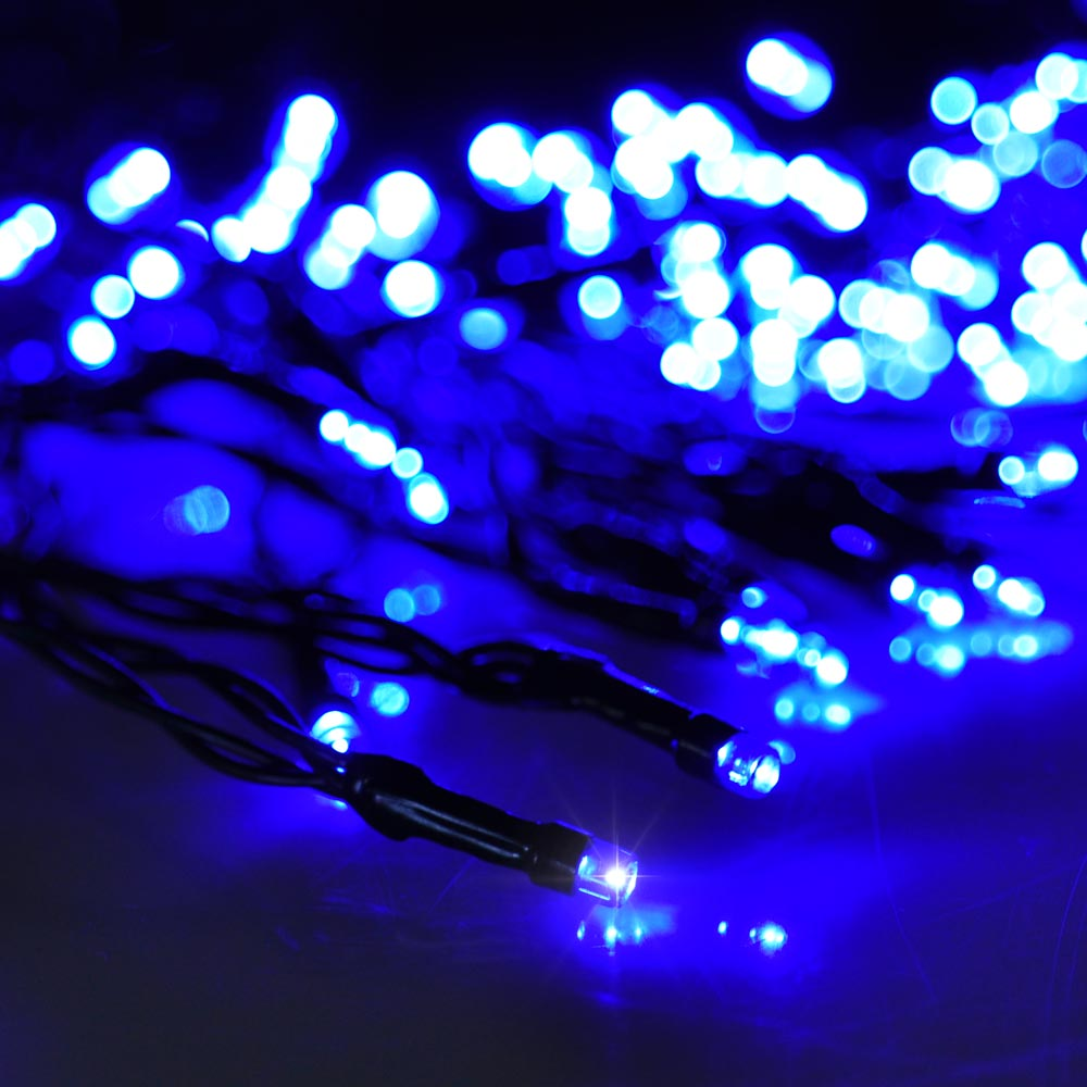 Led Outdoor Party String Lights: 100 LED Solar Power String Light Outdoor Garden Christmas