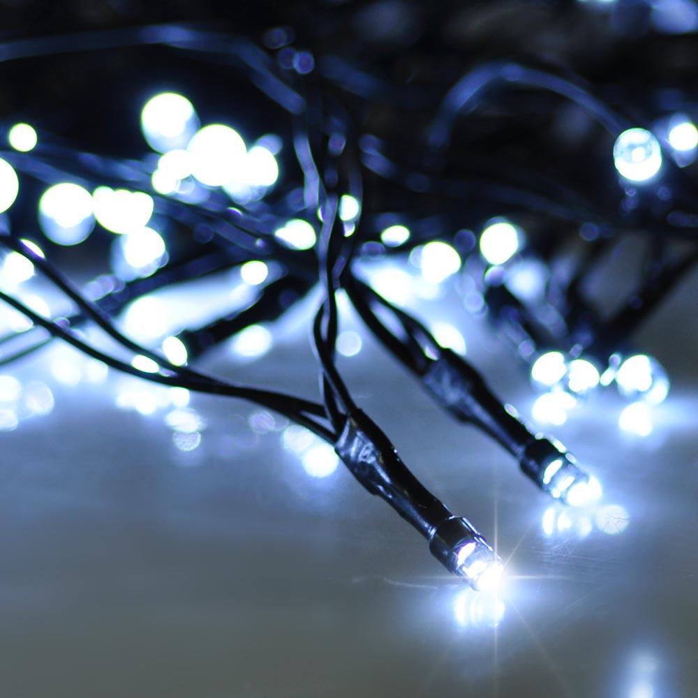 Solar powered 100 led string fairy tree light outdoor holiday solar powered 100 led string fairy tree light aloadofball Images