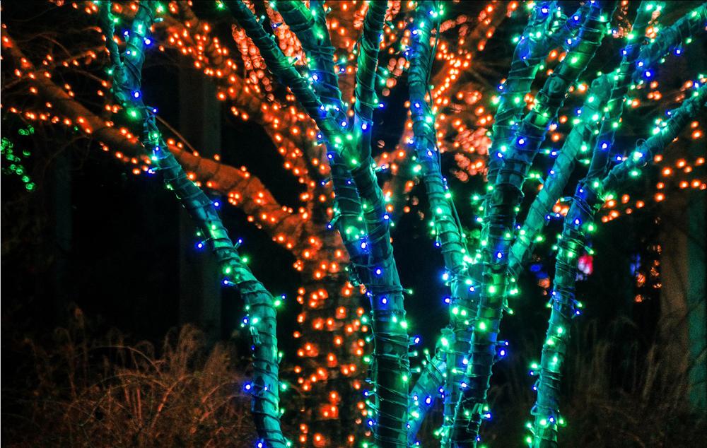 100 led solar power string fairy light outdoor