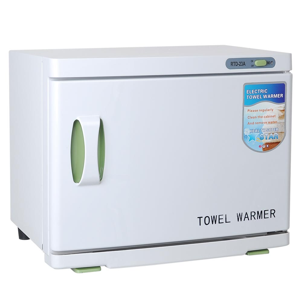 2in1 23l hot towel warmer cabinet uv sterilizer spa massage salon rh ebay com spa hot towel cabinet Professional Towel Warmers Cabinets