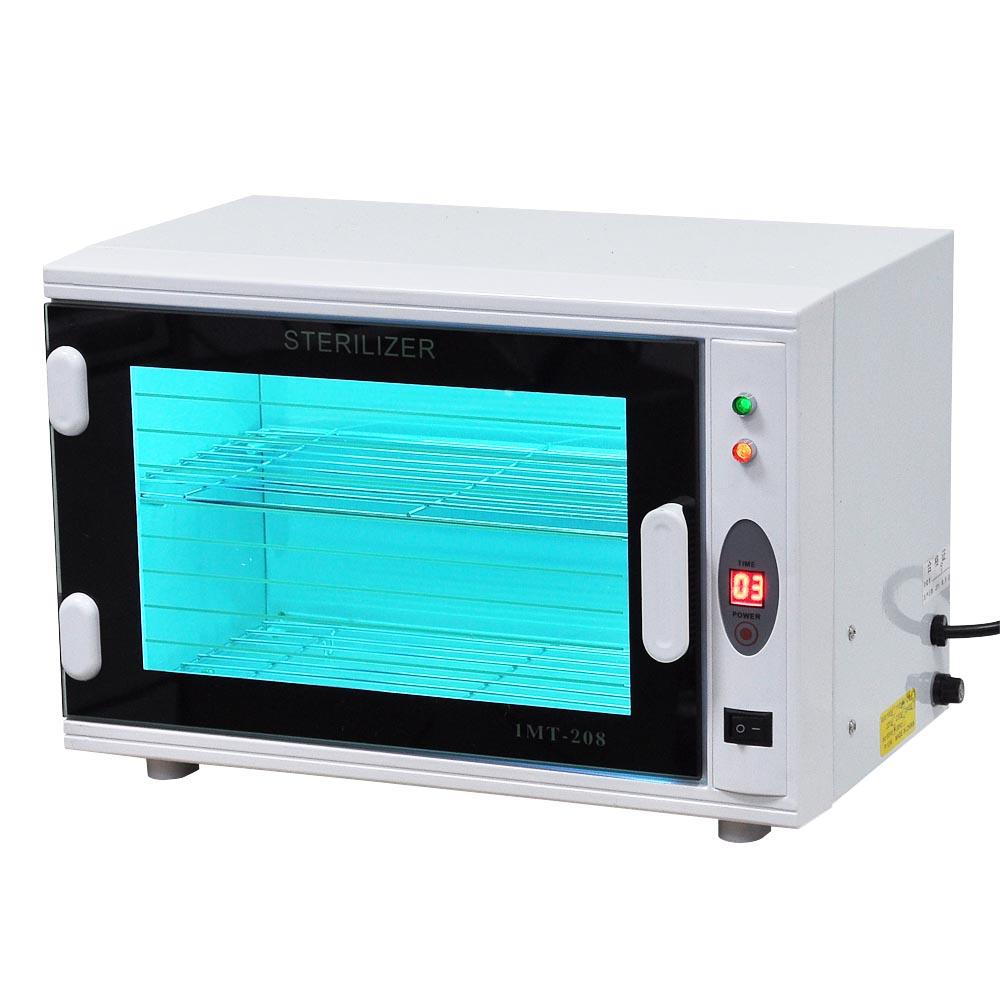 8L UV Tool Sterilizer Cabinet W/ Timer Sterilization