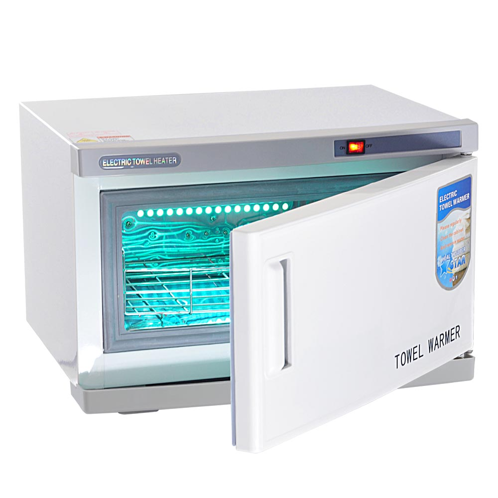 2 in 1 Hot Towel Warmer Cabinet 16L Uv Sterilizer Spa Beauty Salon ...