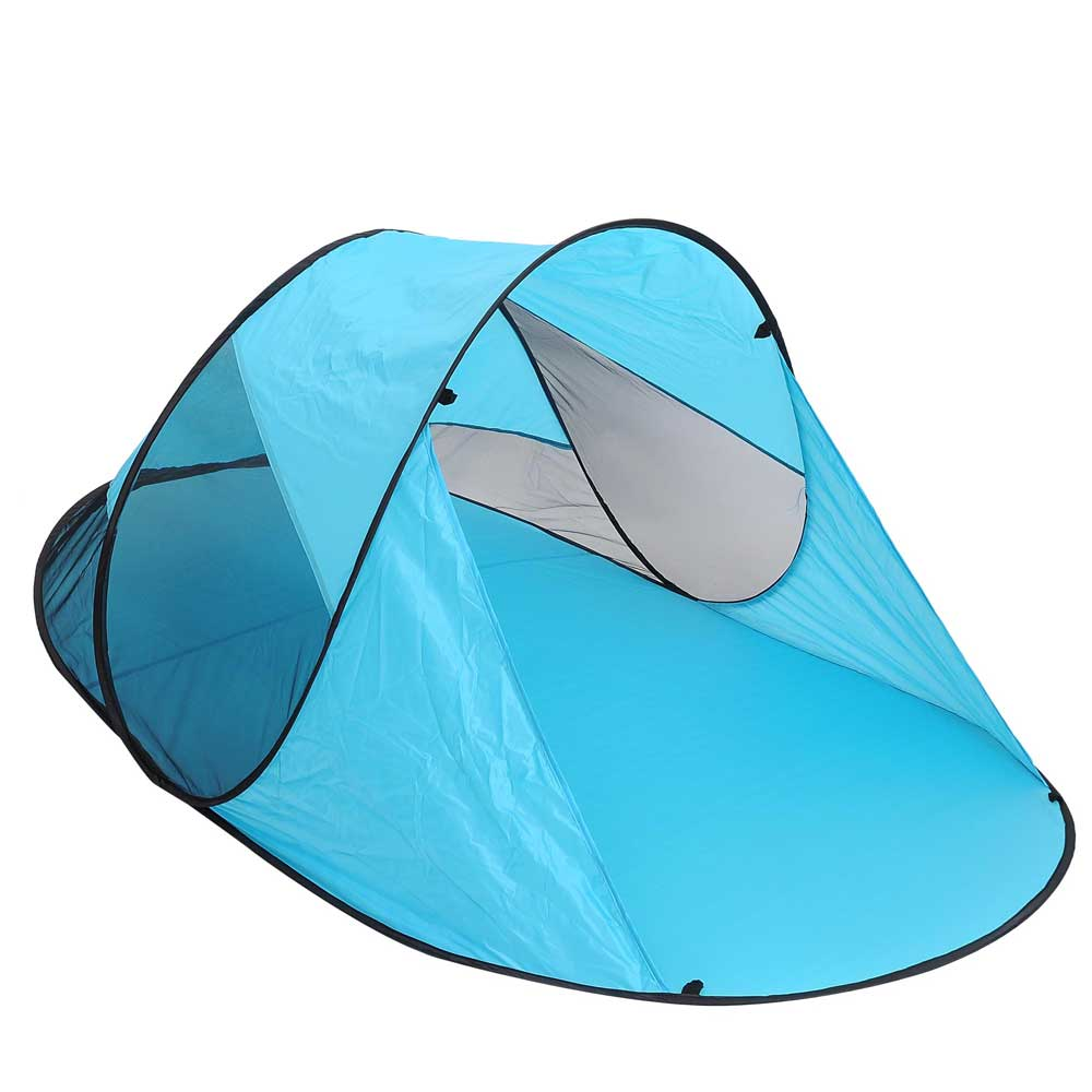 Popup-Portable-Beach-Tent-Canopy-Sun-Shade-Shelter-  sc 1 st  eBay & Popup Portable Beach Tent Canopy Sun Shade Shelter Outdoor Camping ...