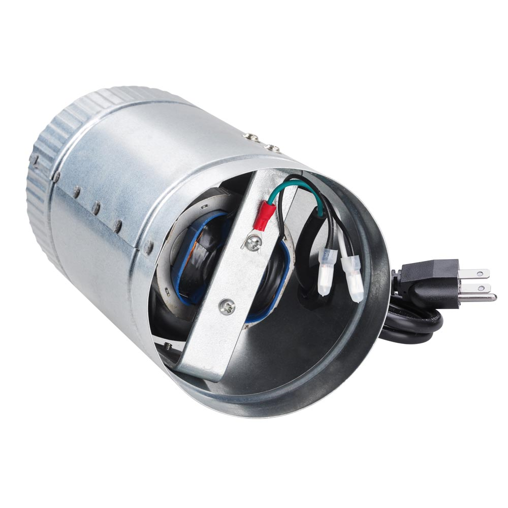 Stainless Steel 6 Inch Inline Fan : Quot inch duct booster inline blower vent fan cooling