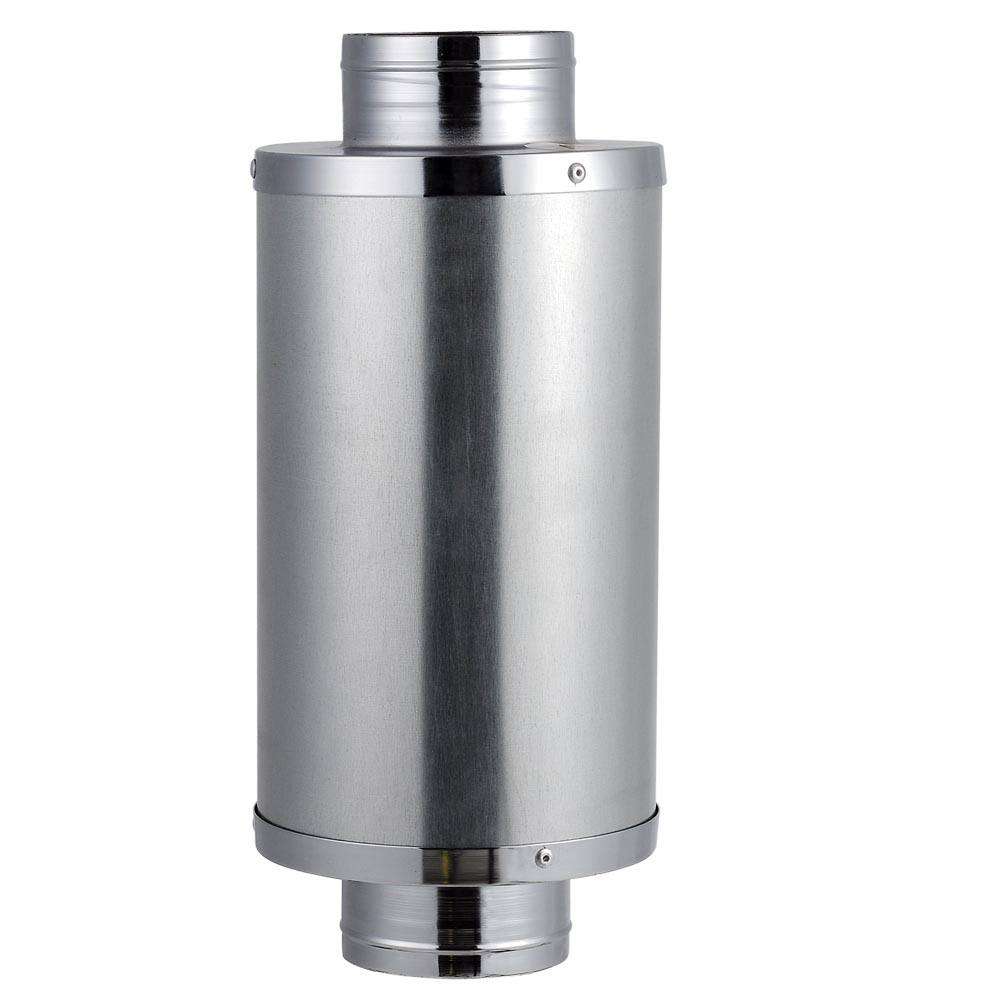 "4 6 8"" Duct Muffler Inline Fan Silencer Noise Reducer"