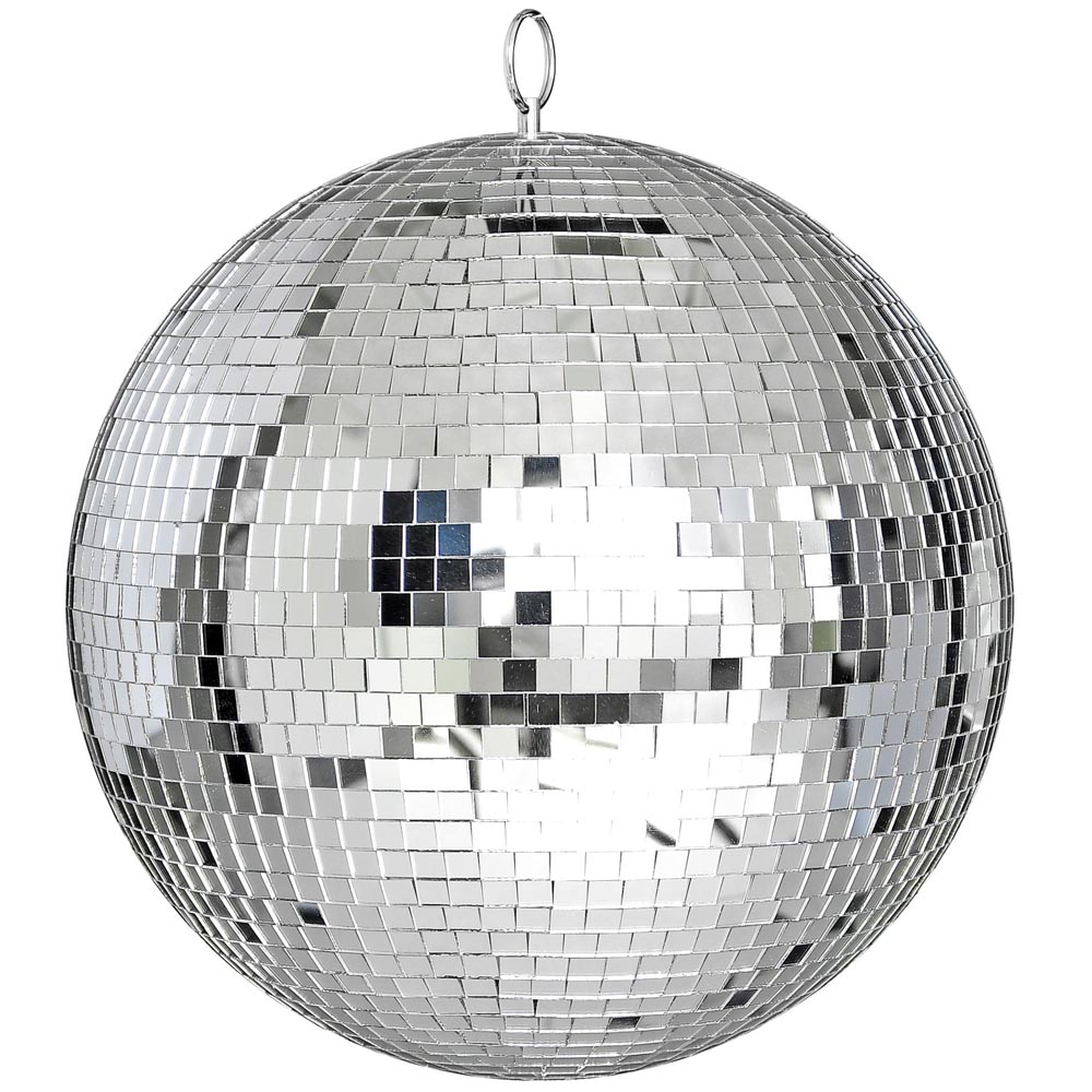 large 12 mirror glass disco ball dj dance home party bands club