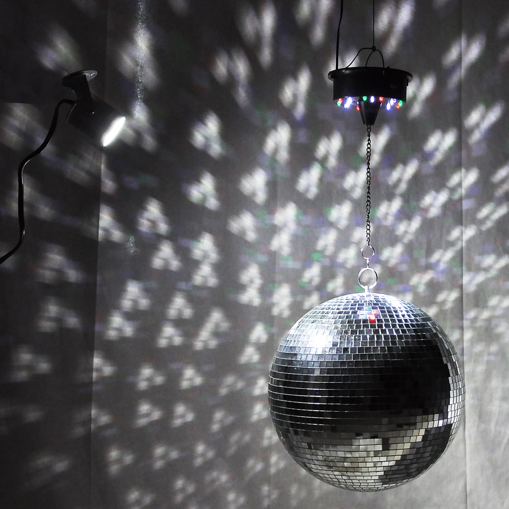 disco ball light large 12 quot mirror glass disco dj home 28675