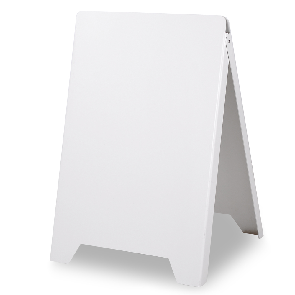 Double Side Sidewalk A Frame Sign Sandwich Board Holds Graphic Plastic Panels