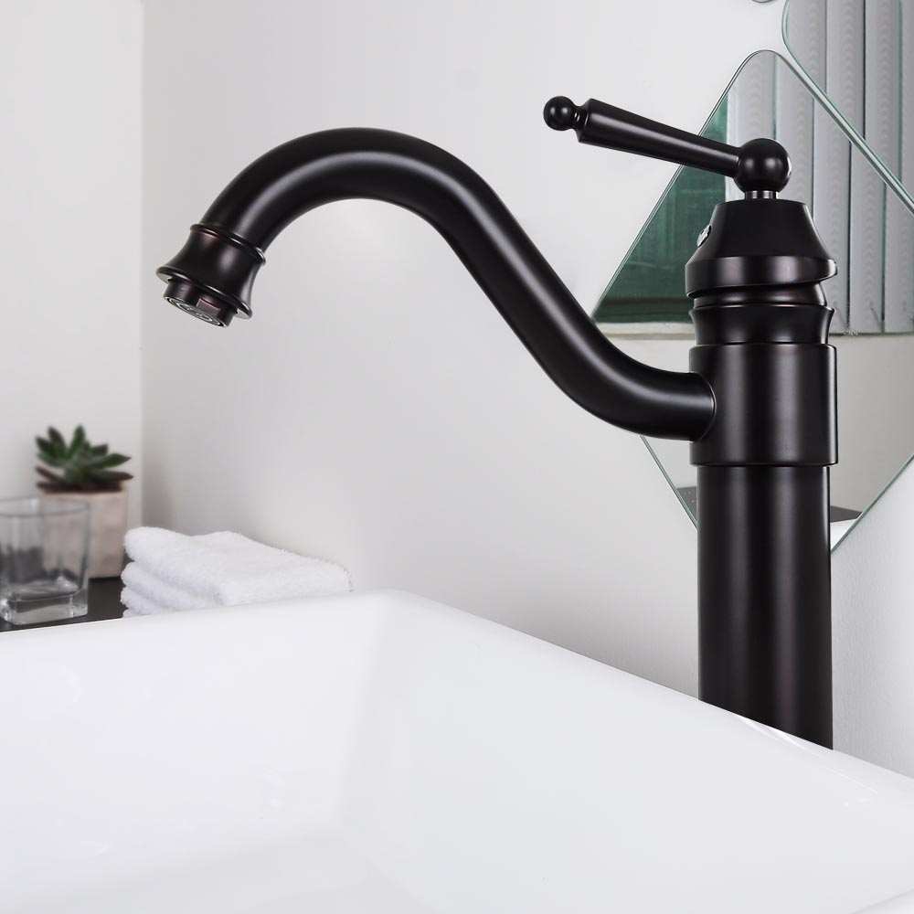 "13"" Bathroom Vessel Sink Faucet Vanity Basin Mixer Tap"