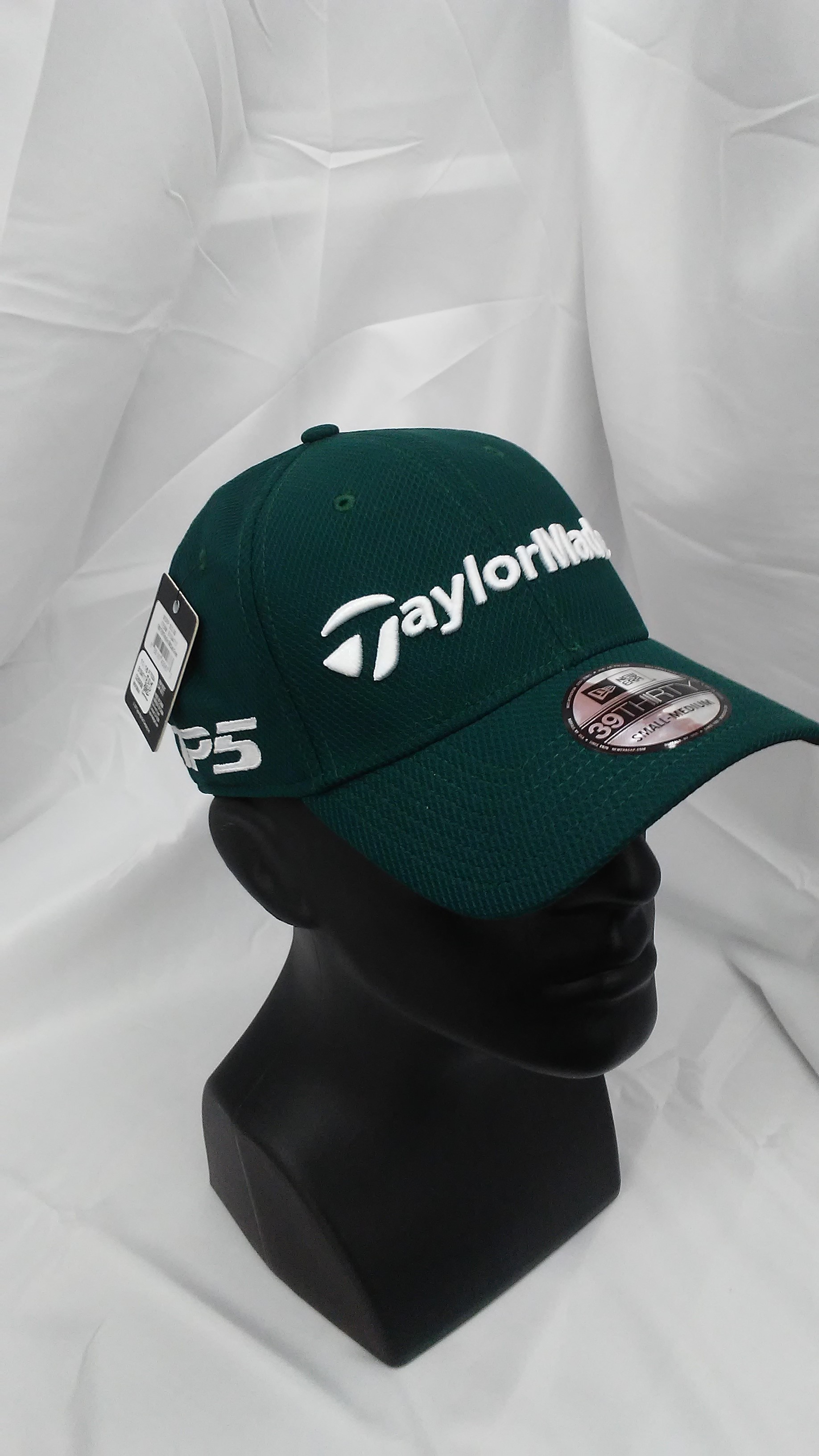 6d2310d79f5 Visit our eBay Store for more great deals  Hurricane Golf New TaylorMade  Tour 39Thirty New Era Fitted Cap Green S M BUY IT NOW  9.99!