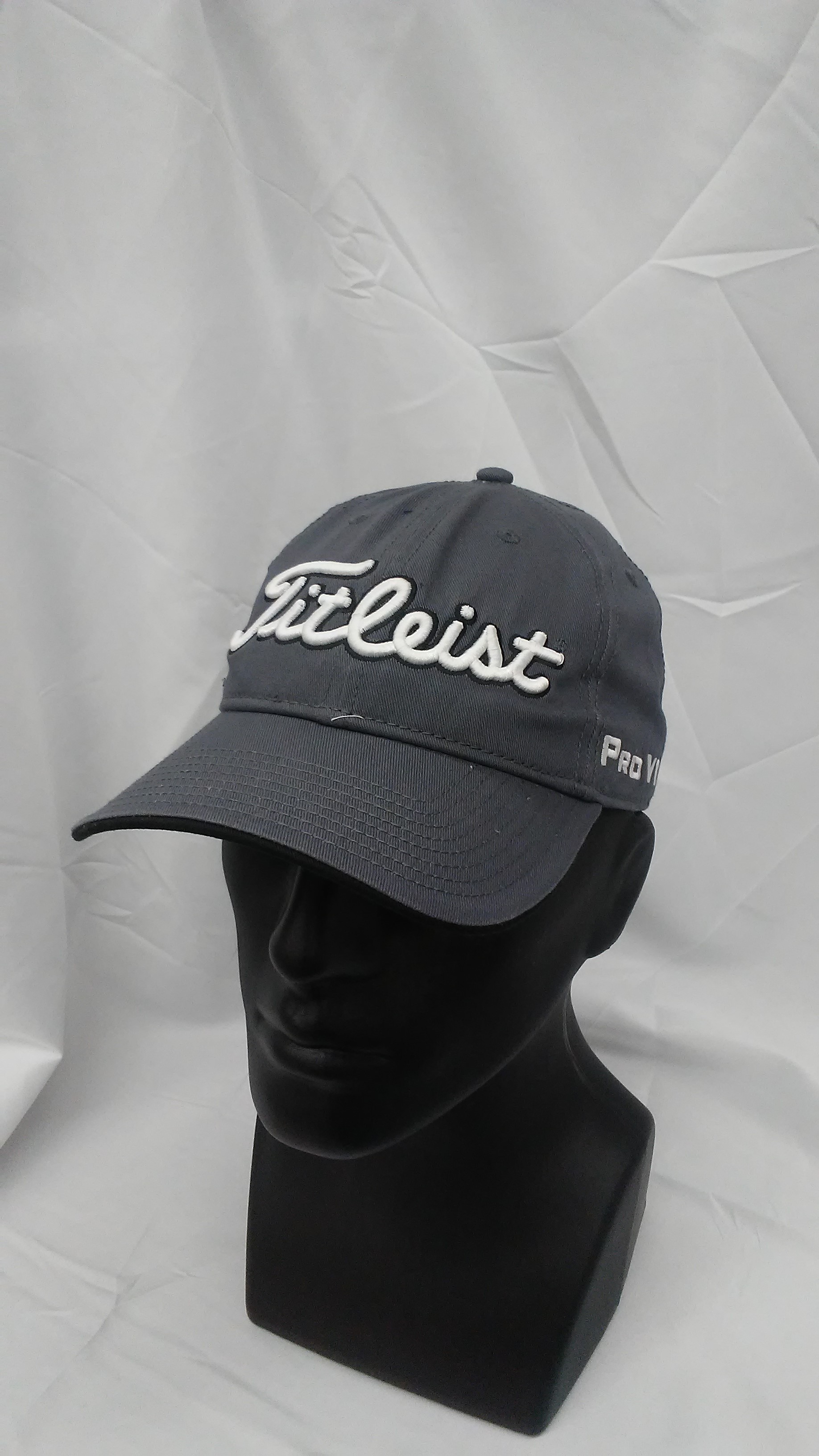 1dcf4796e3a Visit our eBay Store for more great deals  Hurricane Golf New Titleist Golf  Tour Adjustable Hat Charcoal PRO V1   FootJoy Logos BUY IT NOW  17.99!