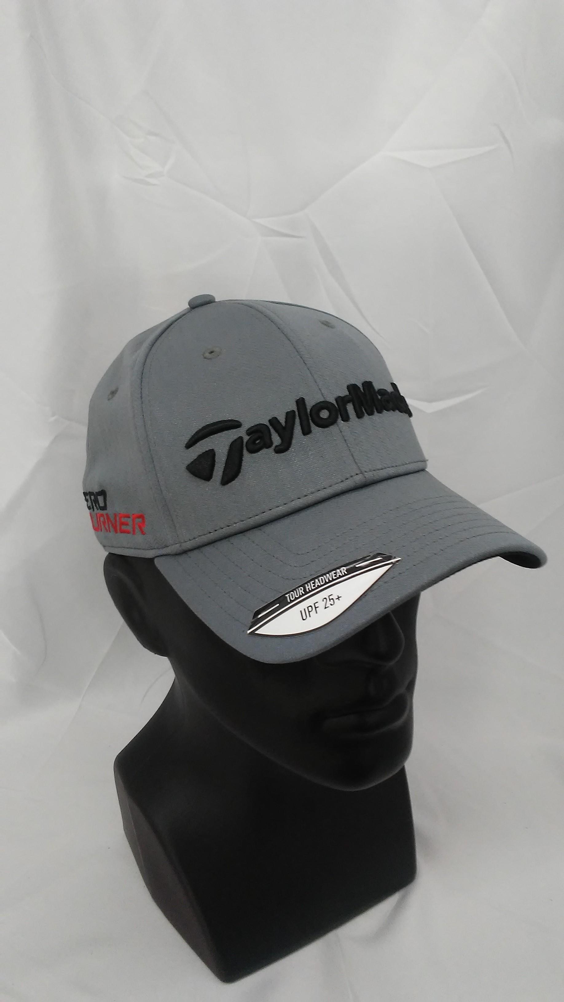 fd839e4c403 Visit our eBay Store for more great deals: Hurricane Golf Men's TaylorMade  Golf Tour Radar Adjustable Hat Grey Aeroburner & R15 Logo BUY IT NOW: 8.99!