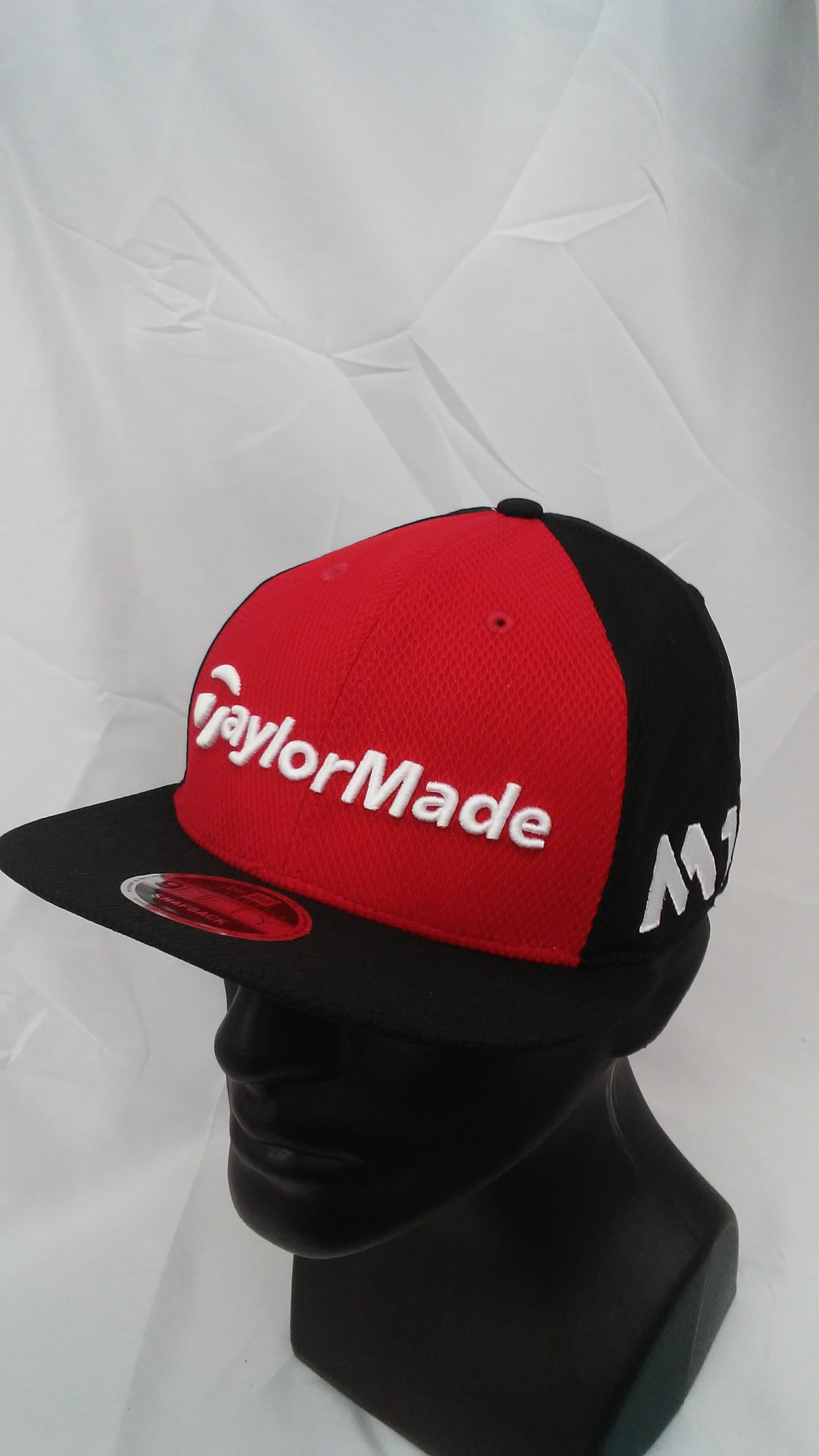 6e4a30a5c2147 Visit our eBay Store for more great deals  Hurricane Golf Men s TaylorMade  Golf Tour 9Fifty New Era Snapback Cap Red Black M1   M2 Logos BUY IT NOW   7.99!