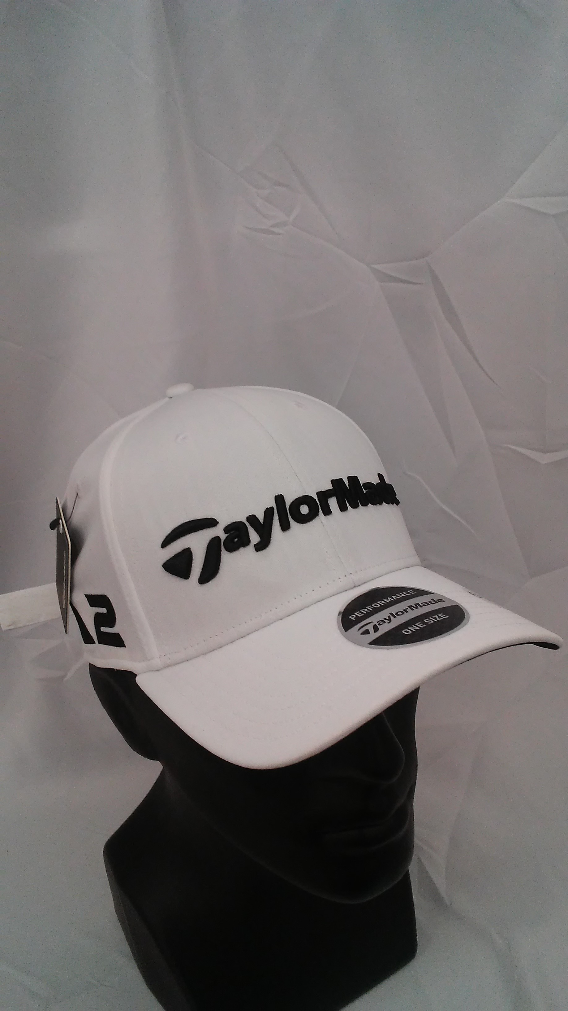 c810f8cd457 Visit our eBay Store for more great deals: Hurricane Golf Men's TaylorMade  Golf 2017 Tour Radar Adjustable Cap White M1 & M2 Logos BUY IT NOW: 9.99!