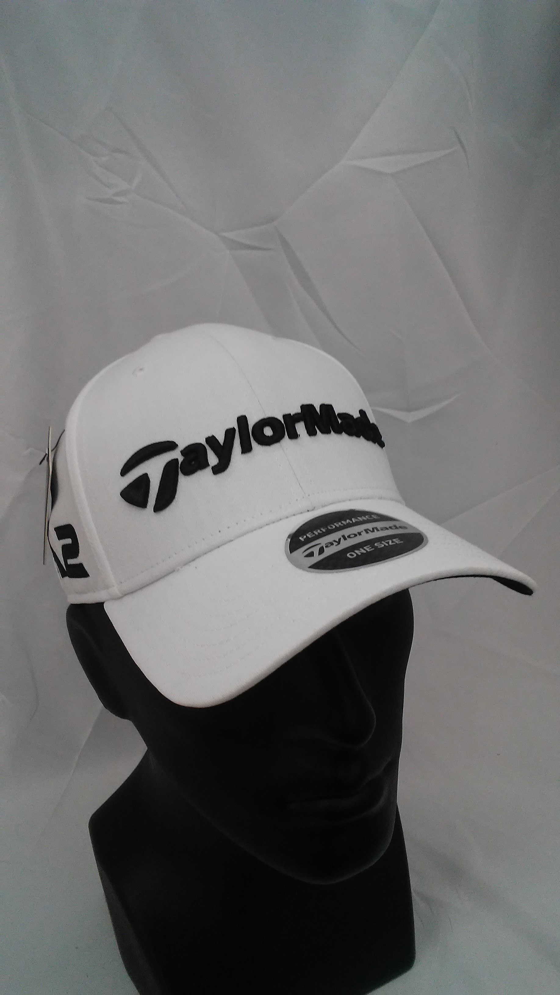 buy popular bf6d7 74237 Visit our eBay Store for more great deals  Hurricane Golf Men s TaylorMade  Golf 2017 Tour Radar Adjustable Cap TR White M1   M2 Logos BUY IT NOW  7.99!