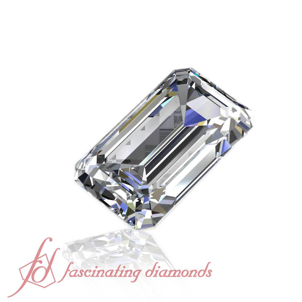 .50 Ct Emerald Cut Diamond - Best Quality Loose Diamonds With Very Good Cut GIA