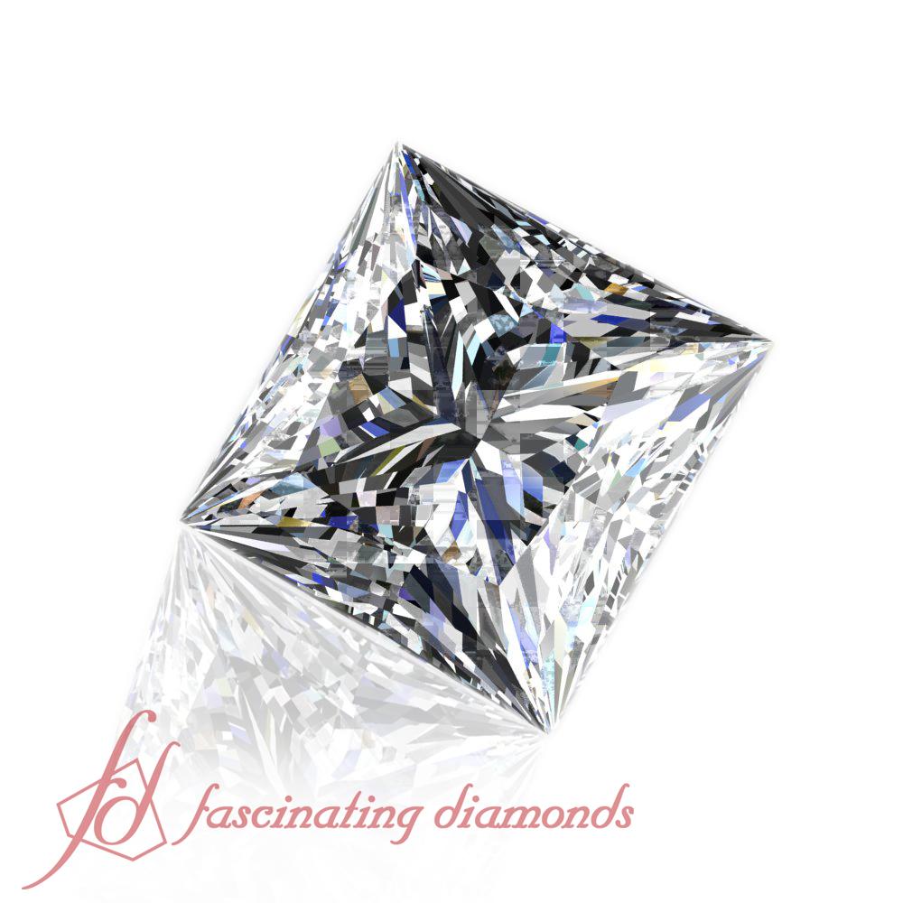 55 Carat Princess Cut Diamond Certified Loose Diamonds