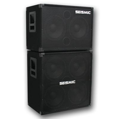 seismic audio 410 210 bass guitar speaker cabinet 4x10 2x10 combo ebay. Black Bedroom Furniture Sets. Home Design Ideas