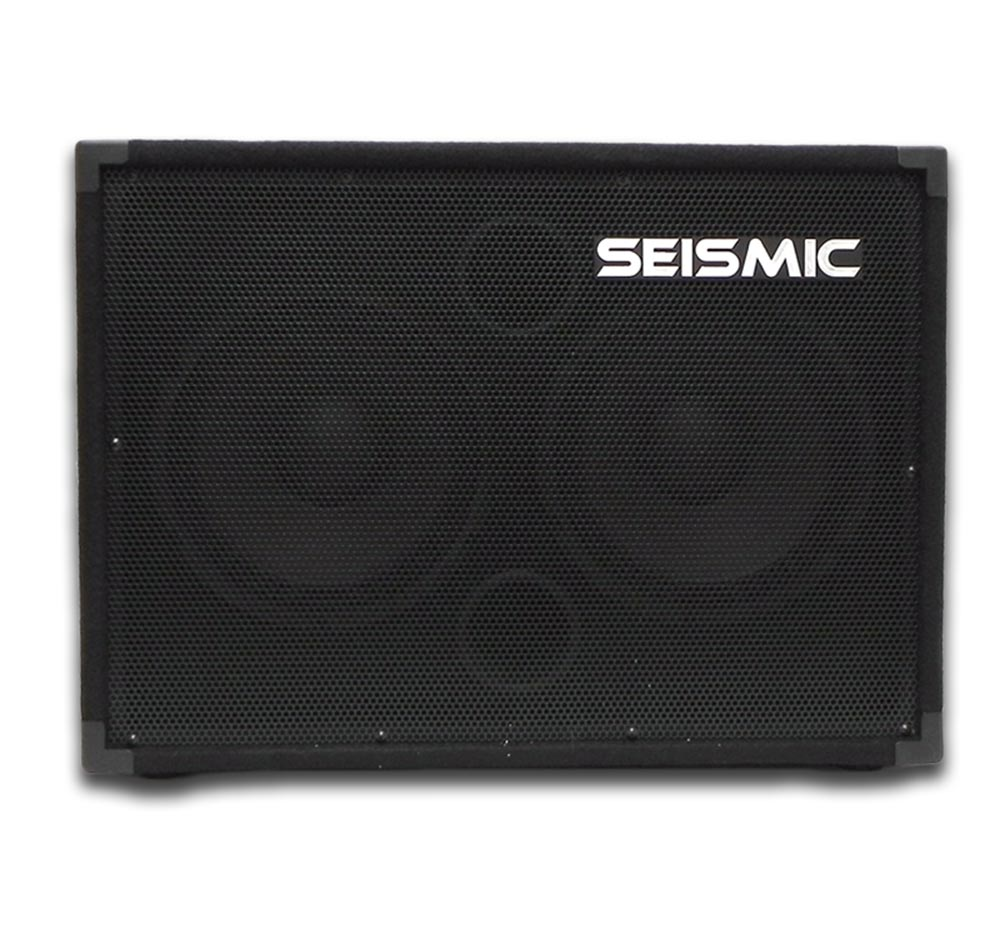 seismic audio 210 bass guitar speaker cabinet 4ohm 2x10 ebay. Black Bedroom Furniture Sets. Home Design Ideas