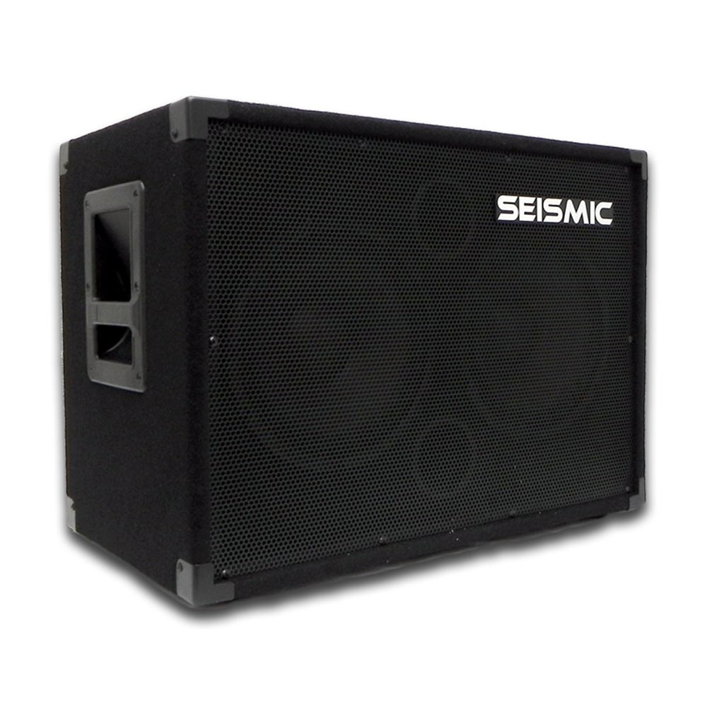 SEISMIC AUDIO 210 Bass Guitar Speaker Cabinet 4Ohm 2x10 | eBay