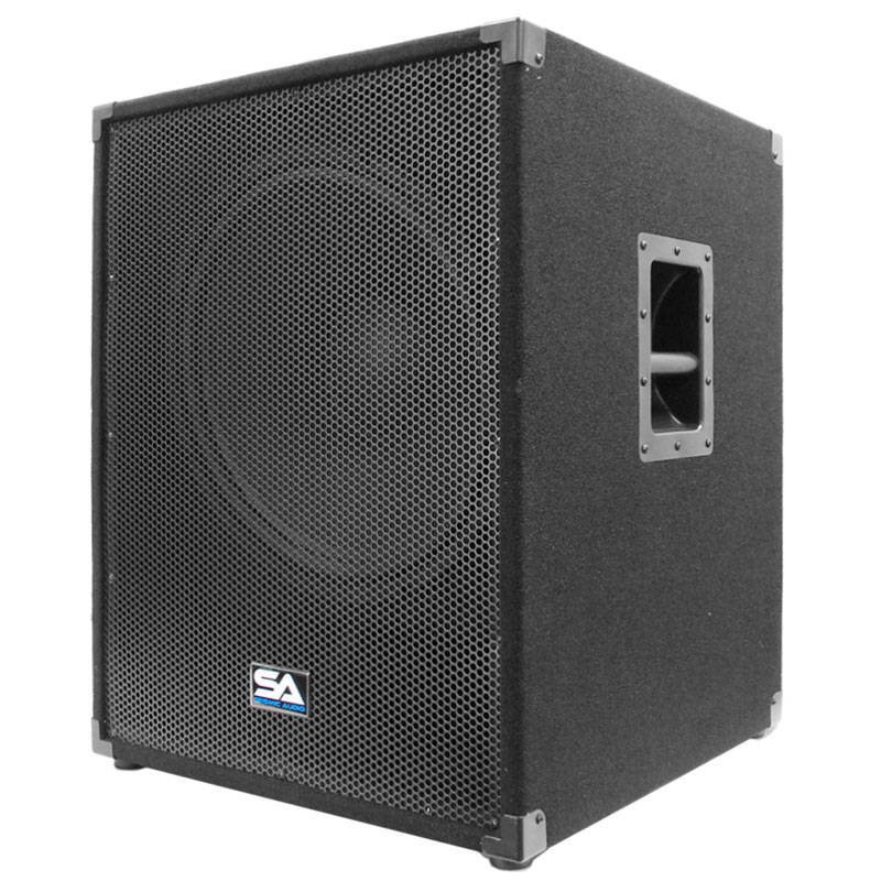 seismic audio 18 pa powered subwoofer speaker 800 watt ebay. Black Bedroom Furniture Sets. Home Design Ideas