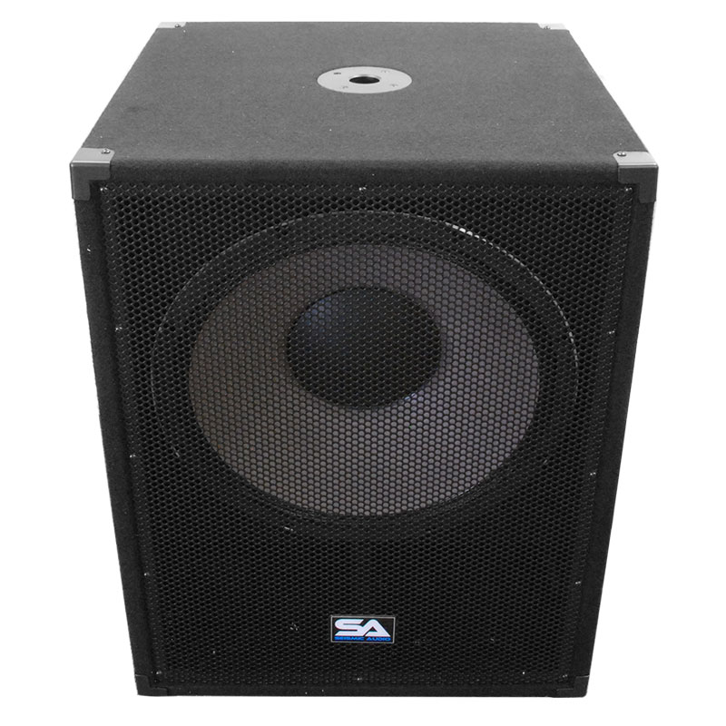 Seismic Audio 18 Quot Pa Powered Subwoofer Active Speaker Ebay