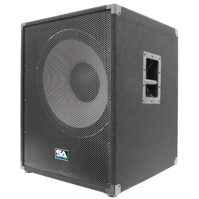 seismic audio 18 subwoofer pa dj pro audio speaker sub ebay. Black Bedroom Furniture Sets. Home Design Ideas