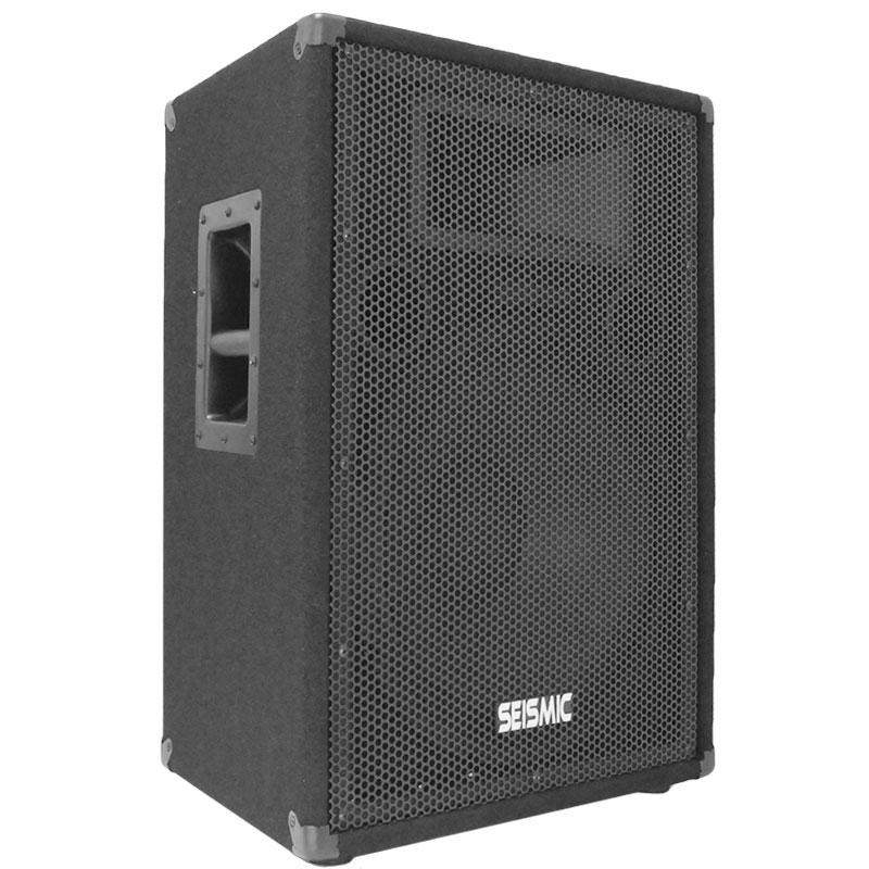 new 15 seismic audio pa speakers dj band pro speaker ebay. Black Bedroom Furniture Sets. Home Design Ideas