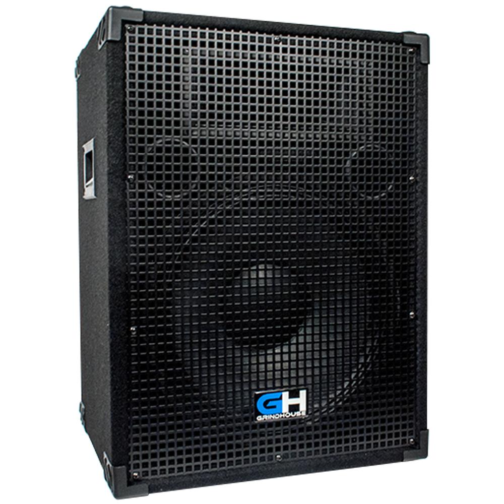 800w 15 inch passive pa system loud speaker for band dj karaoke church events. Black Bedroom Furniture Sets. Home Design Ideas