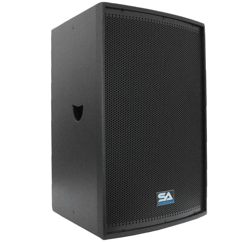 seismic audio premium black 15 loudspeaker or monitor pa dj speaker band new ebay. Black Bedroom Furniture Sets. Home Design Ideas