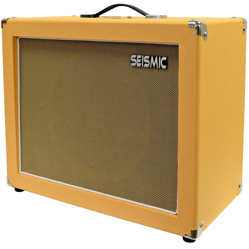 seismic audio 1x12 guitar speaker cab empty 12 cabinet orange tolex ebay. Black Bedroom Furniture Sets. Home Design Ideas