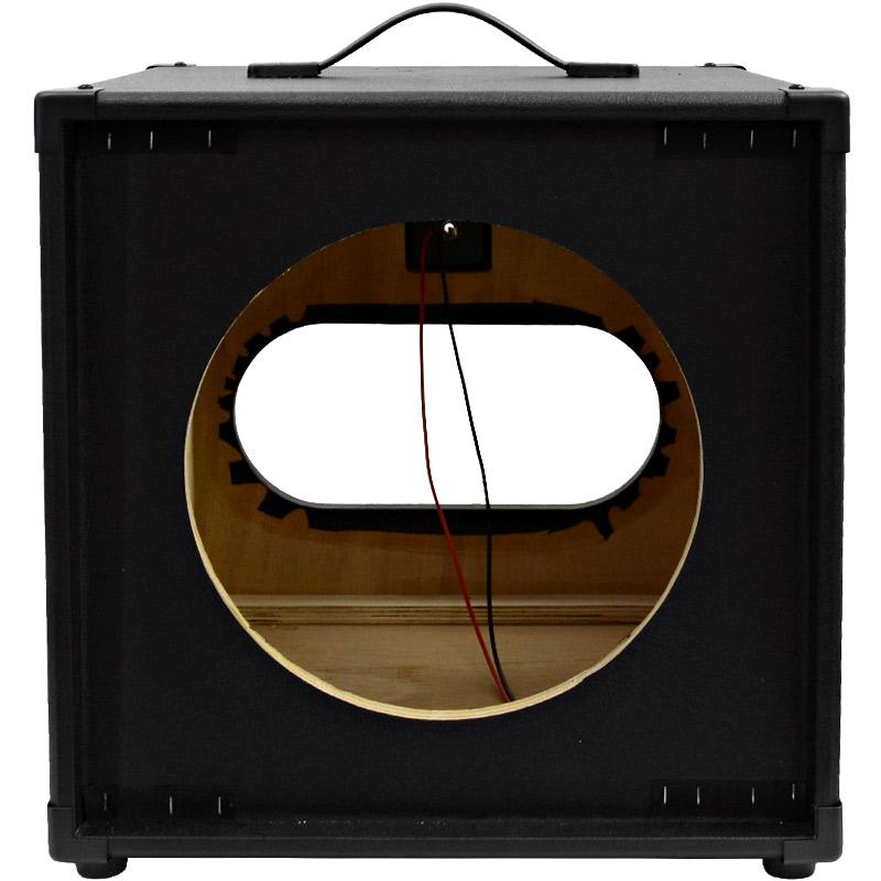 seismic audio 1x12 guitar speaker cab empty 12 cube cabinet tolex ebay. Black Bedroom Furniture Sets. Home Design Ideas