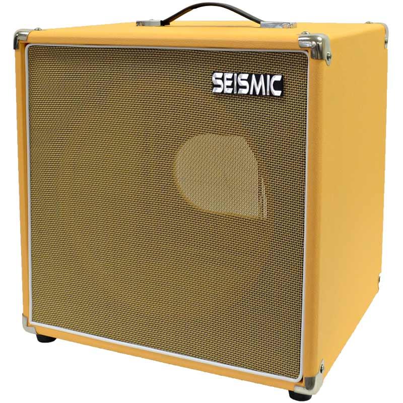 seismic audio orange tolex guitar speaker cabinet empty 1x12 cube cab. Black Bedroom Furniture Sets. Home Design Ideas